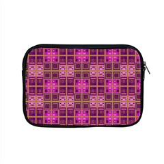 Mod Pink Purple Yellow Square Pattern Apple Macbook Pro 15  Zipper Case