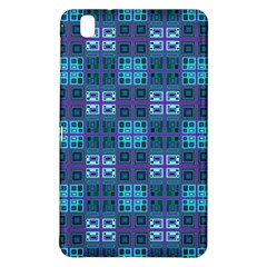 Mod Purple Green Turquoise Square Pattern Samsung Galaxy Tab Pro 8 4 Hardshell Case