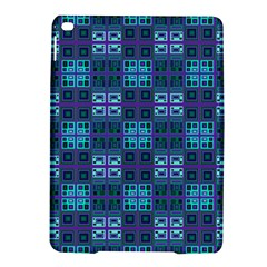 Mod Purple Green Turquoise Square Pattern Ipad Air 2 Hardshell Cases