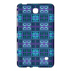 Mod Purple Green Turquoise Square Pattern Samsung Galaxy Tab 4 (8 ) Hardshell Case