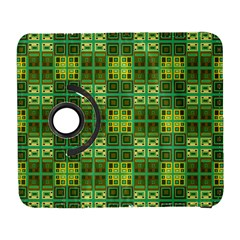 Mod Yellow Green Squares Pattern Samsung Galaxy S  Iii Flip 360 Case