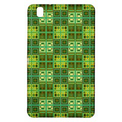 Mod Yellow Green Squares Pattern Samsung Galaxy Tab Pro 8 4 Hardshell Case