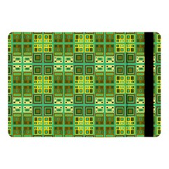 Mod Yellow Green Squares Pattern Apple Ipad 9 7