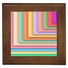 Colorful Wallpaper Abstract Framed Tiles