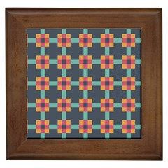 Abstract Background Framed Tiles
