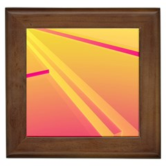 Abstract Art Background Beautiful Framed Tiles