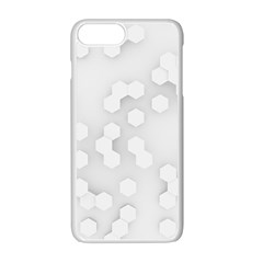 White Abstract Wall Paper Design Frame Apple Iphone 7 Plus Seamless Case (white)
