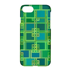 Green Abstract Geometric Apple Iphone 7 Hardshell Case
