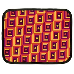 Abstract Background Netbook Case (large) by Simbadda