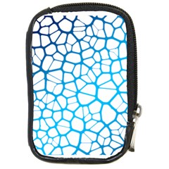 Network Social Neurons Brain Cells Compact Camera Leather Case