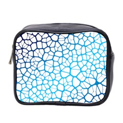 Network Social Neurons Brain Cells Mini Toiletries Bag (two Sides) by Simbadda