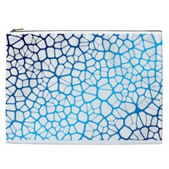 Network Social Neurons Brain Cells Cosmetic Bag (xxl)
