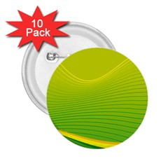 Background Color Fresh Beautiful 2 25  Buttons (10 Pack)