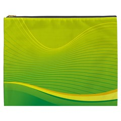 Background Color Fresh Beautiful Cosmetic Bag (xxxl)