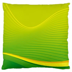 Background Color Fresh Beautiful Standard Flano Cushion Case (one Side) by Simbadda