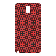 Abstract Background Red Black Samsung Galaxy Note 3 N9005 Hardshell Back Case