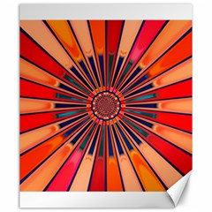 Color Background Structure Lines Canvas 20  X 24  by Simbadda