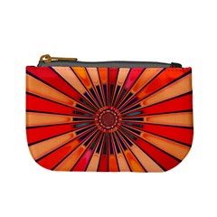 Color Background Structure Lines Mini Coin Purse by Simbadda