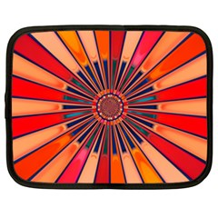 Color Background Structure Lines Netbook Case (xxl)
