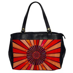 Color Background Structure Lines Oversize Office Handbag by Simbadda