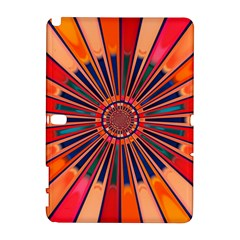 Color Background Structure Lines Samsung Galaxy Note 10 1 (p600) Hardshell Case