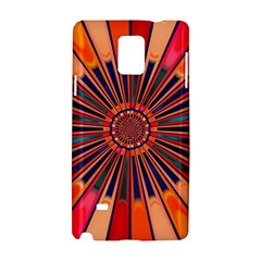 Color Background Structure Lines Samsung Galaxy Note 4 Hardshell Case