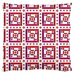 Background Abstract Square Large Cushion Case (two Sides)