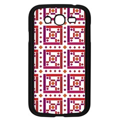 Background Abstract Square Samsung Galaxy Grand Duos I9082 Case (black)