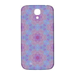 Pattern Pink Hexagon Flower Design Samsung Galaxy S4 I9500/i9505  Hardshell Back Case
