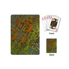 Art 3d Windows Modeling Dimension Playing Cards (mini)