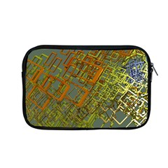 Art 3d Windows Modeling Dimension Apple Macbook Pro 13  Zipper Case by Simbadda