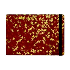 Background Design Leaves Pattern Ipad Mini 2 Flip Cases by Simbadda