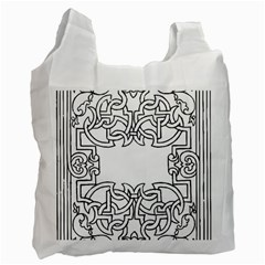 Grolier Antique Scroll Fruit Recycle Bag (one Side) by Simbadda