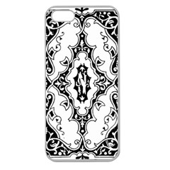 Holbein Floriated Antique Scroll Apple Seamless Iphone 5 Case (clear)