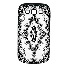 Holbein Floriated Antique Scroll Samsung Galaxy S Iii Classic Hardshell Case (pc+silicone) by Simbadda