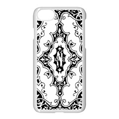 Holbein Floriated Antique Scroll Apple Iphone 8 Seamless Case (white)