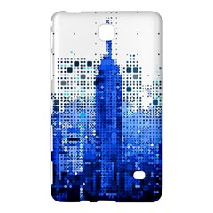 Skyline Skyscraper Abstract Points Samsung Galaxy Tab 4 (8 ) Hardshell Case
