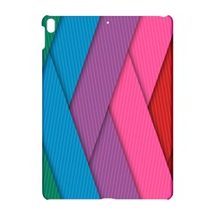 Abstract Background Colorful Strips Apple Ipad Pro 10 5   Hardshell Case by Simbadda