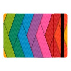 Abstract Background Colorful Strips Apple Ipad Pro 10 5   Flip Case by Simbadda