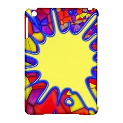 Embroidery Dab Color Spray Apple Ipad Mini Hardshell Case (compatible With Smart Cover)