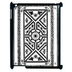 Monastic Antique Scroll Fruit Apple Ipad 2 Case (black)