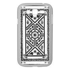 Monastic Antique Scroll Fruit Samsung Galaxy Grand Duos I9082 Case (white)
