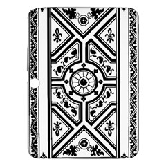 Monastic Antique Scroll Fruit Samsung Galaxy Tab 3 (10 1 ) P5200 Hardshell Case