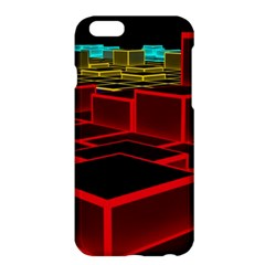 3d Abstract Model Texture Apple Iphone 6 Plus/6s Plus Hardshell Case