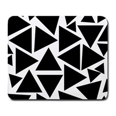 Black Triangle Large Mousepads