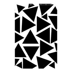 Black Triangle Shower Curtain 48  X 72  (small)  by Simbadda