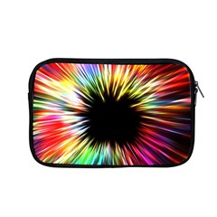 Color Background Structure Lines Apple Macbook Pro 13  Zipper Case by Simbadda