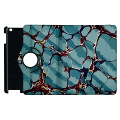 Marble Rock Comb Antique Apple Ipad 2 Flip 360 Case by Simbadda