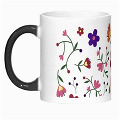 Flowers Pattern Texture Nature Morph Mugs