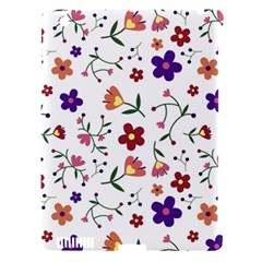 Flowers Pattern Texture Nature Apple Ipad 3/4 Hardshell Case (compatible With Smart Cover)